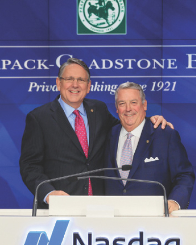 Peapack-Gladstone Bank press on expanding